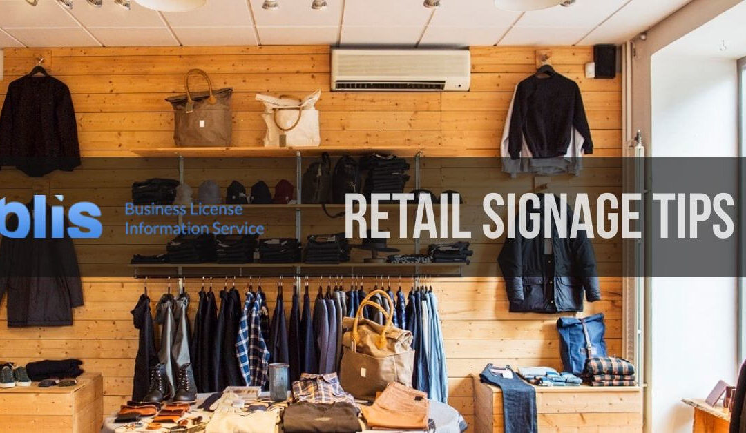 10 Retail Signage Tips to Drive Traffic to Your Store